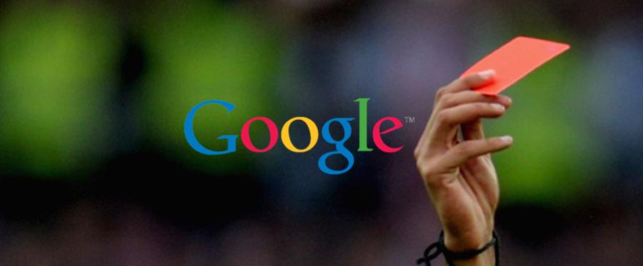 10 razones más comunes por las que Google penaliza tu web