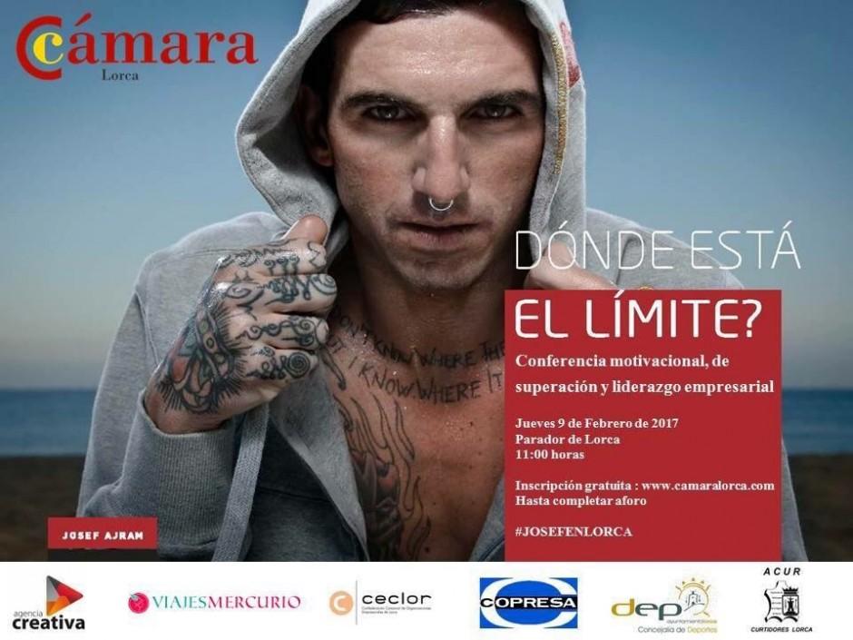 Agencia Creativa partner de la jornada de liderazgo de Josef Ajram y Cámara de Lorca
