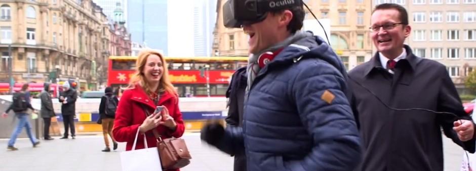 Realidad virtual, no solo videojuegos